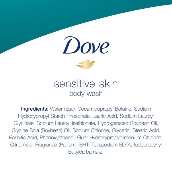 Dove Sensitive Unscented Skin Nourishing Body Wash Hy Vee Aisles Online Grocery Shopping