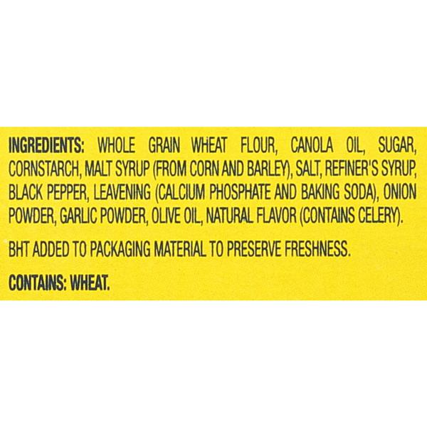 Nabisco Wheat Thins Cracked Pepper & Olive Oil